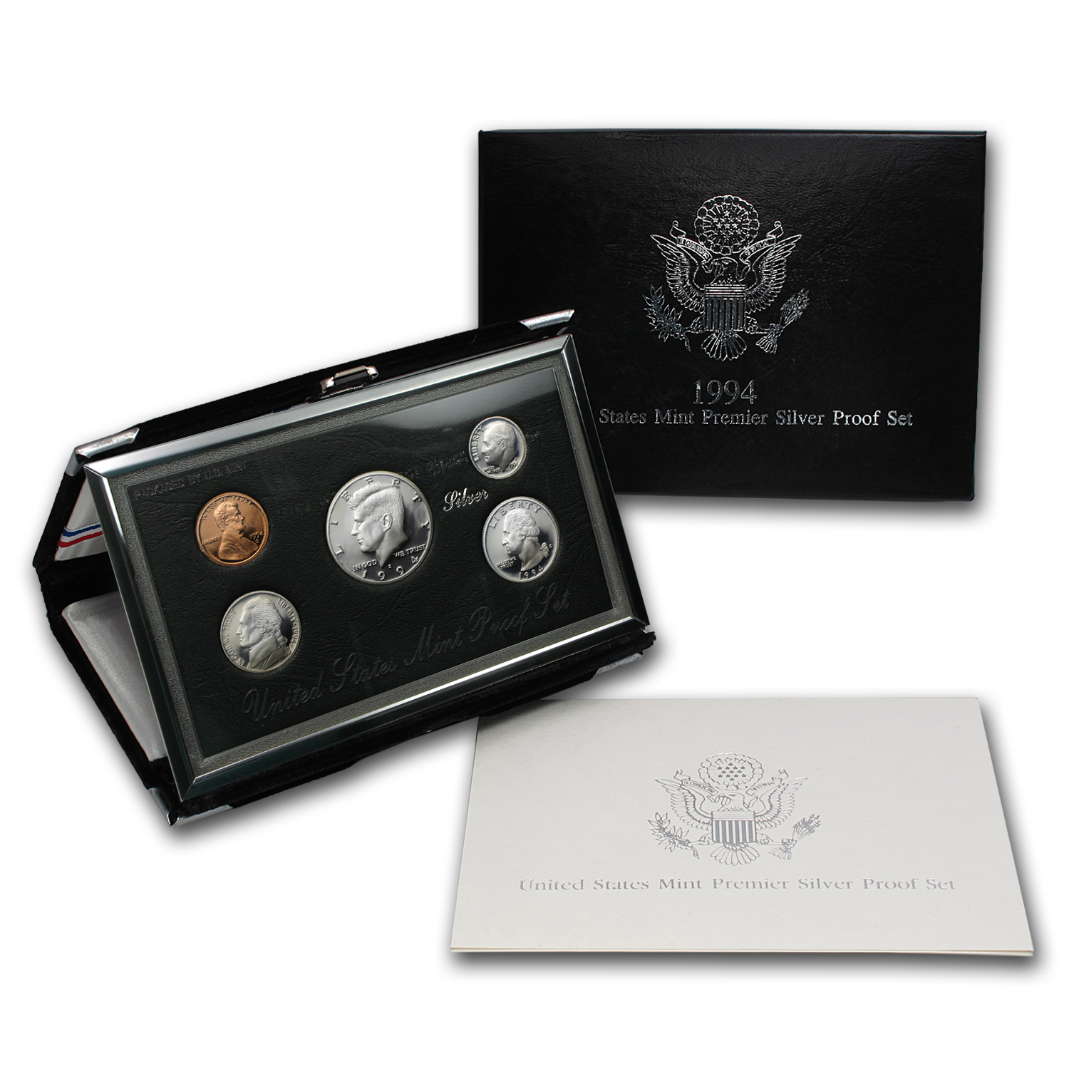 1994 Premier Silver Proof Set